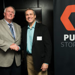Pure Storage luncheon, with Charlie Manuel .